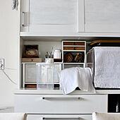 キッチン/白/DIY/キッチンボード/食器棚...などのインテリア実例 - 2019-02-20 15:19:48
