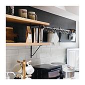 キッチン背面棚/リノベ/収納棚/リノベーション/ブログやってます♪...などのインテリア実例 - 2020-08-08 13:22:30
