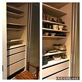 食器コレクション/うつわと暮らす/ミニマルに暮らしたい/LIXIL 食器棚/食器棚...などのインテリア実例 - 2020-08-23 19:52:41