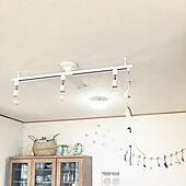 スポットライト/ダクトレール 照明/中古住宅/子供と暮らす。/ドライフラワーのある暮らし...などのインテリア実例 - 2020-04-03 17:35:41