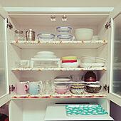 キッチン/RoomClipショッピング/夏のスペシャルクーポン/おうち時間/食器棚...などのインテリア実例 - 2021-09-23 22:57:55