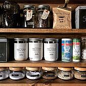 瓶収納/調味料収納/調味料棚DIY/インスタ→chocolate.cafe/キッチンのインテリア実例 - 2019-08-17 14:02:54