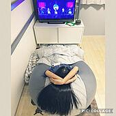 Little Glee Monster/リトグリ/32インチTV/IKEA/無印良品ガーゼパジャマ...などのインテリア実例 - 2021-05-05 23:33:09