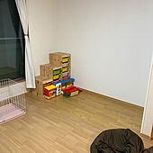 IKEA/狭いリビング/リビング/トロファストのインテリア実例 - 2021-06-19 19:36:42
