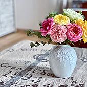 お花のある暮らし/薔薇が好き/ノリタケの森限定の花瓶/ノリタケの森/花瓶...などのインテリア実例 - 2020-11-03 09:48:29