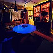 部屋全体/いぬのいる暮らし/間接照明/DIY/カフェ風...などのインテリア実例 - 2020-09-21 00:27:10