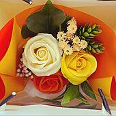 ソープフラワー/ご覧頂きありがとうございます♡/閲覧ありがとうございます♪/買ってよかったモノ/花のある暮らし...などのインテリア実例 - 2021-05-07 11:21:31