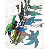 夏を感じるインテリア/ヤシの木/ヤシの木オブジェ/ハンドメイド/ステンドグラス...などのインテリア実例 - 2020-07-12 10:26:06