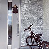 外壁/ハロウィン飾り/#こどもと暮らす/#こどもとの生活/玄関/入り口のインテリア実例 - 2021-09-25 07:35:00