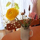 花が好き/節約家族/家の中でできる事/ナチュラル/乙女チック...などのインテリア実例 - 2021-03-04 10:09:45