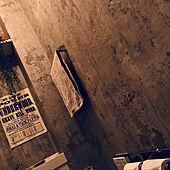 リメイクシート/ウォールシート/トイレットペーパー/男前/賃貸DIY...などのインテリア実例 - 2021-06-17 00:58:02