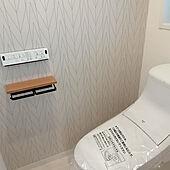 バス/トイレ/リノベーション/サンゲツ壁紙のインテリア実例 - 2021-04-15 10:03:20