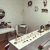 ベッド周り/クリスマス/クリスマスディスプレイ/雑貨/飾り...などのインテリア実例 - 2021-01-13 07:00:28