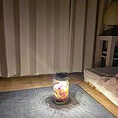 雑貨/間接照明/花瓶/ドライフラワー/ホワイトインテリア...などのインテリア実例 - 2021-05-15 23:51:41