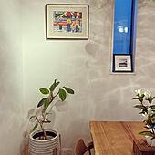 アートのある暮らし/植物のある暮らし/リビングのインテリア実例 - 2021-09-24 18:34:10