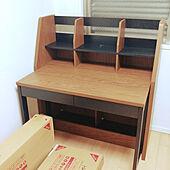 部屋全体/子ども部屋/子どもと暮らす/システムベッド/DIY...などのインテリア実例 - 2021-04-18 07:55:30