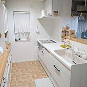 キッチン/見せる収納/水切りラック/キッチン用品/boon...などのインテリア実例 - 2021-08-05 23:16:23