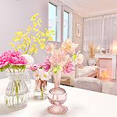 韓国インテリア/マントルピース/植物のある暮らし/海外インテリアに憧れる/いいね、フォローありがとうございます♡...などのインテリア実例 - 2021-04-09 12:00:43