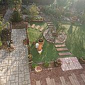 玄関/入り口/庭作り中/DIY/花のある暮らし/小道...などのインテリア実例 - 2021-09-16 07:13:49