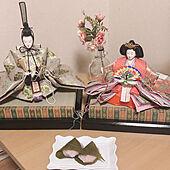 道明寺の桜餅/手作り桜餅/クローゼットからお引越し/ひな祭り/コメント嬉しいです...などのインテリア実例 - 2021-03-02 22:29:30