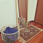 部屋全体/一人暮らし/クローゼット周り/ラグマット/姿見ミラー...などのインテリア実例 - 2021-05-09 20:45:13
