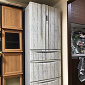リビングに冷蔵庫があります/TOSHIBA冷蔵庫/リメイクシート/リビングのインテリア実例 - 2021-07-15 22:54:19