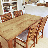 フランフランチェア/フランフランのテーブル/RoomClipアンケート/北欧/キッチンのインテリア実例 - 2021-03-06 13:49:26
