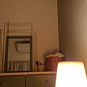 照明/チェストの上のインテリア実例 - 2021-04-24 02:51:26