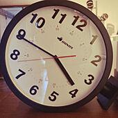 ダブルフェイスクロック/RoomClipアンケート/DIY/一人暮らし/男前...などのインテリア実例 - 2021-03-08 15:44:40