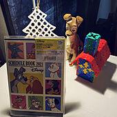 ディズニー/LaQ/クリスマス雑貨/陶器の置物/2021年の手帳...などのインテリア実例 - 2020-11-24 22:17:11