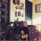 このソファーもうありません/観葉植物/のれん/DIY/犬と暮らす家...などのインテリア実例 - 2020-10-31 07:04:24