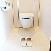 バス/トイレ/ホワイトインテリア/TOTOトイレ/宙に浮くトイレのインテリア実例 - 2021-09-21 11:38:51