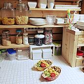 キッチン/おはようございます٩(*´꒳`*)۶/2人分/お弁当のインテリア実例 - 2021-05-17 07:31:56