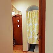 玄関/入り口/のれん/北欧/間仕切り/わくわくカーテン...などのインテリア実例 - 2021-09-19 12:49:37