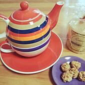 リビング/カフェ風/シンプルナチュラル/紅茶好き/ナチュラル...などのインテリア実例 - 2020-09-25 11:24:47