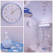 くもモチーフ/詰め替え/IKEA 洗面台/バス/トイレのインテリア実例 - 2021-03-24 12:40:18
