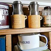 棚/10分でできる/キッチン雑貨/DIY/賃貸DIY...などのインテリア実例 - 2021-09-12 12:03:56