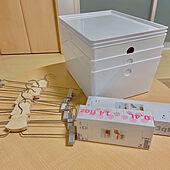 収納ボックス/フリーザーバッグ/ハンガー/IKEA/リピート買い...などのインテリア実例 - 2020-02-16 22:32:34