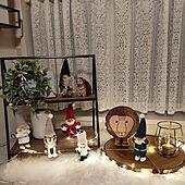 玄関/入り口/クリスマス/ノルディカニッセ/クリスマスディスプレイ/ファーラグ...などのインテリア実例 - 2020-11-25 18:50:32