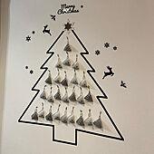 アドベントカレンダー 手作り/アドベントカレンダー/ダイソー/リビング/クリスマスのインテリア実例 - 2020-12-01 03:26:11
