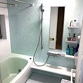 ニトリ/風呂/ほっカラリ床/TOTOバスルーム/バス/トイレのインテリア実例 - 2021-02-28 23:43:33