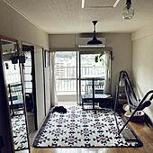 古いマンション/観葉植物/ハンモック/猫と暮らす/リビングのインテリア実例 - 2021-04-23 08:30:45