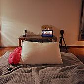 ベッド周り/一人暮らし/1K 1人暮らし/無印良品/ソネングラス...などのインテリア実例 - 2021-05-14 20:08:01