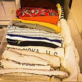 引出し収納/衣装ケース/無印良品/洋服収納/棚のインテリア実例 - 2020-04-06 18:21:36