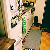 キッチン/ポット/築40年/絵/額縁...などのインテリア実例 - 2017-08-30 18:41:34