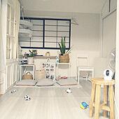和室を洋室に /愛犬と暮らす家/足場板/DIY/WOODPRO足場板...などのインテリア実例 - 2021-07-24 22:16:36