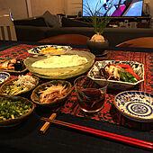 東京4166人感染!/今日も無事終了/オリンピックを観ながら/ビールは頂きます/食欲無いからソーメンです...などのインテリア実例 - 2021-08-04 18:24:24