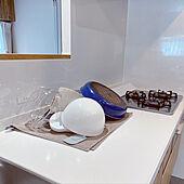 食器の水切り/ジョージジェンセン/水切りタオル/アレスタキッチン/フルリノベーション...などのインテリア実例 - 2021-09-27 17:31:55