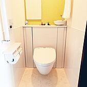 バス/トイレ/ホワイトインテリア/TOTOトイレ/宙に浮くトイレのインテリア実例 - 2021-09-21 11:41:10