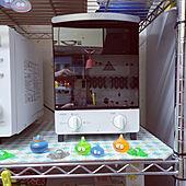 キッチン/初めての縦型オーブントースター/AQUAのインテリア実例 - 2021-06-24 21:43:51